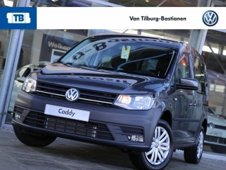 Volkswagen Caddy 1.4 TSI Geel combi kenteken Trendline 125 pk